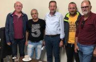 Η συνάντηση του Δημήτρη Χαρίτου με εκπροσώπους αγροτών!