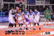 Volley League: Τα αποτελέσματα της 3ης αγωνιστικής και η βαθμολογία