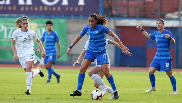 Με Μωραίτου η αποστολή της Εθνικής Γυναικών για το ματς με Ουκρανία για τα προκριματικά του Euro!