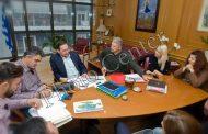 Συνάντηση με τον δήμαρχο Αλεξ/πολης είχαν οι άνθρωποι του ΟΕΓΑ