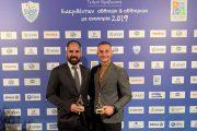 Βραβεύτηκαν από την Ελληνική Παραολυμπιακή Επιτροπή Μιχαλεντζάκης και Καλλιτσάρης!