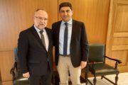 Αθλητισμός, πρωτογενής τομέας και Ευρωπαϊκά Προγράμματα στις διεκδικήσεις του Δημάρχου Μαρωνείας-Σαπών!
