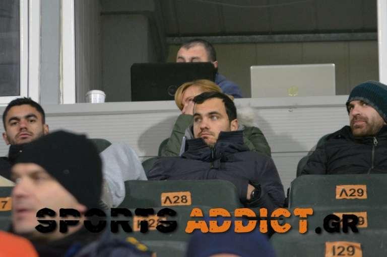 Παρακολούθησαν ΑΟΞ, Κουμπαράκη και Τζιώτζιο, ο Μάνος Γαβριηλίδης και τρεις διαιτητές της ΕΠΣ Θράκης!