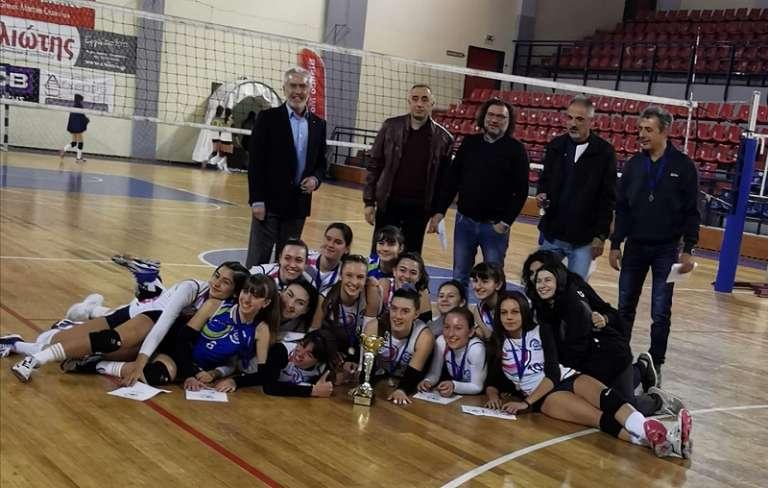 Πρωταθλήτρια Νεανίδων στην ΑΜ-Θ η Γαία Δράμας!