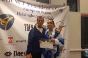 Χρυσό στην Σουηδία και πρόκριση με την Εθνική στο Ευρωπαϊκό για την Μιχαηλίδη του ΑΟΓ Αλεξ/πολης!