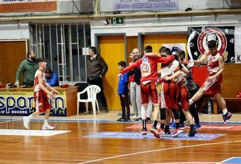 Στο δεύτερο ματς κρίθηκε η τετράδα της τελικής φάσης του Παιδικού με πρόκριση για ΓΑΣ, Ασπίδα και δύο Σερραίους!