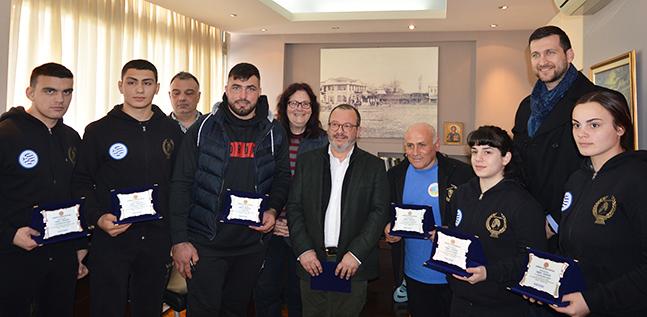 Βραβεύτηκαν από τον Δήμο Κομοτηνής οι παλαιστές του ΑΣ Δημοκρίτειο!