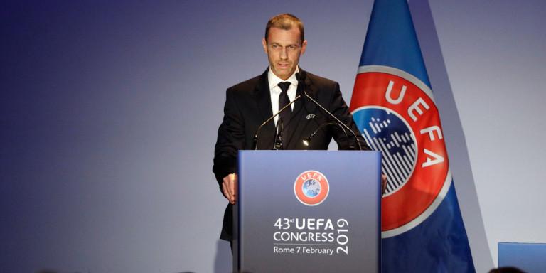 Πρόεδρος Uefa: