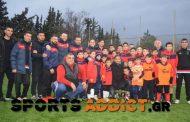 Photos: Απο τα παιδιά της Ακαδημίας του Απολλωνα παρέλαβε το βραβείο του MVP o Λισγάρας!
