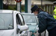 Απαγόρευση κυκλοφορίας: 1.113 «απείθαρχοι» σε ένα 24ωρο, 610.000 ευρώ πρόστιμα! 55 στην ΑΜ-Θ!!!