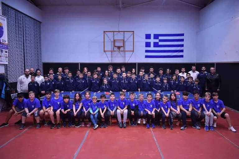 Video: Τα παιδιά της επιτραπέζιας αντισφαίρισης του Εθνικού «Μένουνε σπίτι»!
