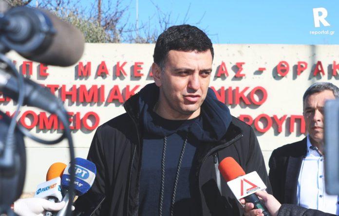 Ικανοποιημένος από την τήρηση των μέτρων δήλωσε από την Αλεξανδρούπολη ο Υπουργός Υγείας