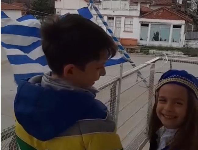 Video: Έκλεψε τις εντυπώσεις η μικρή Εβρίτισσα από τη Βύσσα τραγουδώντας τον Εθνικό Ύμνο!