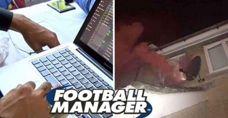 Πήρε το πρωτάθλημα με τη Χάμιλτον στο Football Manager και... άναψε καπνογόνα στο σπίτι!