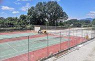 Άρχισαν οι εργασίες ανακατασκευής των γηπέδων τένις στο Πανθρακικό Στάδιο Κομοτηνής!