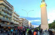 Περισσότεροι από 300 ποδηλάτες πλημμύρισαν την παραλιακή της Αλεξανδρούπολης