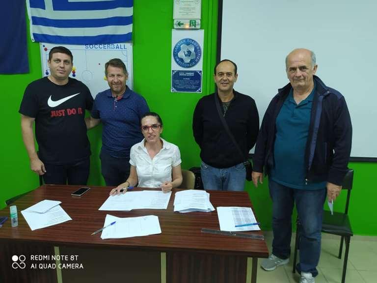 Ο Κώστας Τερζανίδης νέος Πρόεδρος του Συνδέσμου Προπονητών Ξάνθης! Το νέο Διοικητικό Συμβούλιο