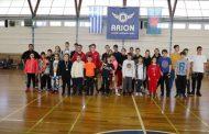 Μετάλλια και διακρίσεις για το τμήμα badminton του Αρίωνα Ξάνθης στο πανελλήνιο πρωτάθλημα U- 13 και βετεράνων!