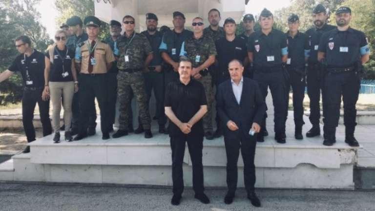 Στον Έβρο ο Μ. Χρυσοχοΐδης με τον εκτελεστικό διευθυντή του FRONTEX!