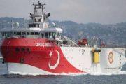Η Τουρκία συνεχίζει να προκαλεί: «Έσπασε» τα 12 μίλια από το Καστελόριζο το Oruc Reis