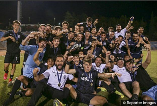 Πρωταθλητής Ελλάδας με την Κ17 του ΠΑΟΚ ο Αργύρης Δαρέλας! Στα πέναλτι κρίθηκε ο Εβρίτικος εμφύλιος με Τσικάκη!!!