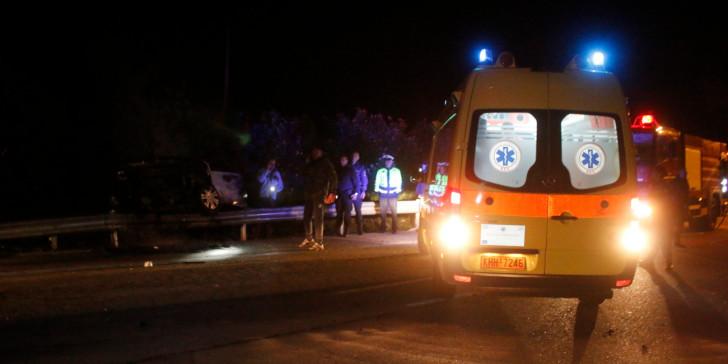 10 νεκροί και 2 τραυματίες σε τροχαίο κοντά στην Αλεξανδρούπολη