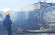 Φωτιά σε αποθήκη στον Ίασμο, δεν κινδύνευσαν ζωές