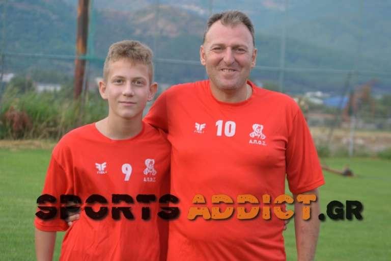 Η ξεχωριστή παρουσία πατέρα και γιού που θα αγωνίζονται τη νέα χρονιά στην ίδια ομάδα της ΕΠΣ Ξάνθης!