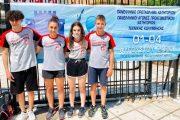 Πανελλήνιο ρεκόρ Παμπαίδων - Παγκορασίδων Α' στα 4Χ100 μ. διπλά πέδιλα μικτής για τους αθλητές του ΟΦΘΑ!