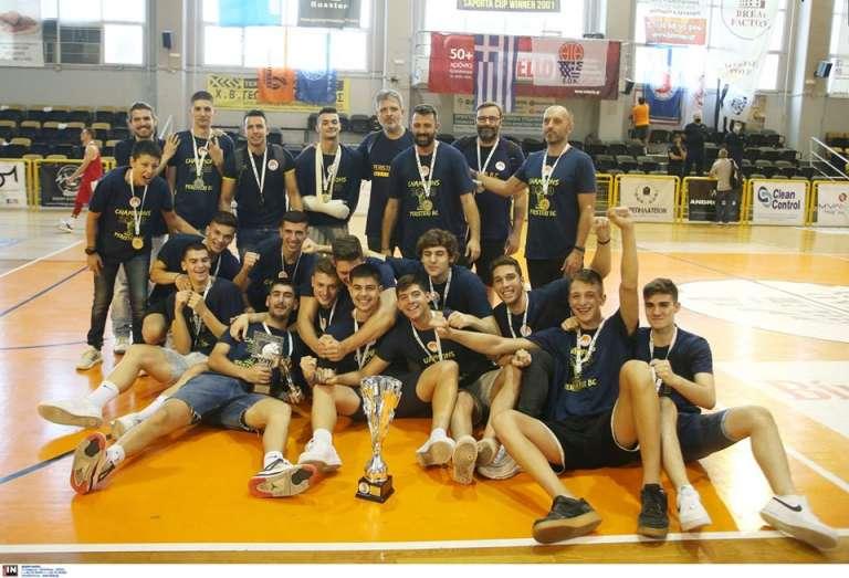 Πρωταθλητής Ελλάδας με το Εφηβικό του Περιστερίου ο Γιάννης Ευσταθιάδης!