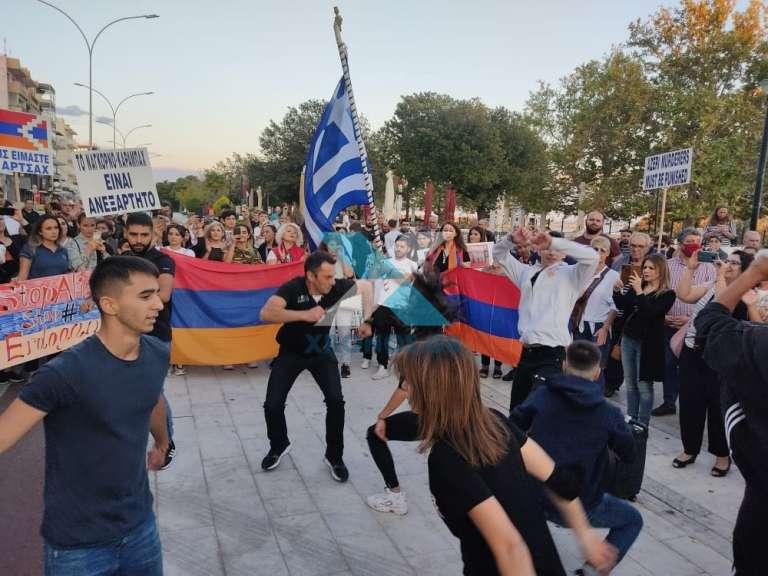 Στην Αλεξανδρούπολη διαδήλωσαν μέλη αρμενικών κοινοτήτων από όλη την Θράκη