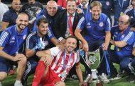 Μεταξύ άλλων και στον Βασίλη Τοροσίδη αφιέρωσε το Κύπελλο ο Πέδρο Μαρτίνς!