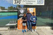 Αργυρό μετάλλιο για τον Ζυγερίδη του Ομίλου Αντισφαίρισης Αλεξ/πολης στις Σέρρες!