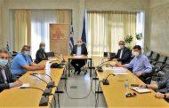 Σύσκεψη στην Περιφέρεια ΑΜΘ για τα αυξημένα κρούσματα covid-19!