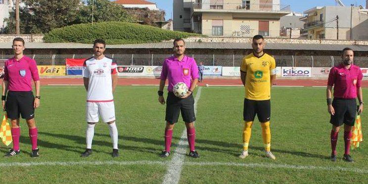 Οι διαιτητές στα παιχνίδια της εμβόλιμης 3ης αγωνιστικής στον 1ο όμιλο της Γ' Εθνικής!