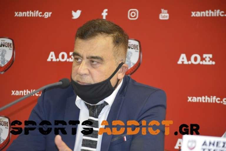 Φάνης Ουζουνίδης: «Αυτά ήταν τα σημεία κλειδιά, βλέπω δικαίωση Ξάνθης»