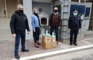Παραδόθηκε στους Συνοριοφύλακες του Έβρου το υγειονομικό υλικό από το Winter Free Thrace Run