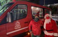 Αλεξανδρούπολη: Ο Άη Βασίλης και το ξωτικό της Πυροσβεστικής μοίρασαν δώρα στα παιδιά! (video)