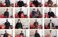 Αλεξανδρούπολη FC: Πήραν δώρα, αντάλλαξαν ευχές και τα είπαν για την επιστροφή στα γήπεδα