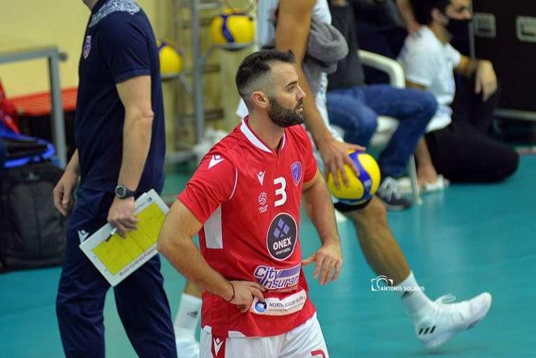 Volley League: Κορυφαίο λίμπερο της 4ης αγωνιστικής στα play off ο Δημήτρης Γκαράς!