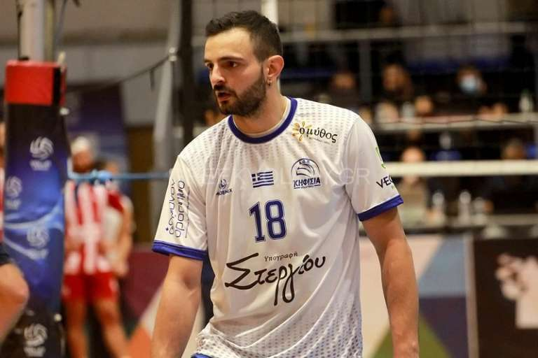 Volley League: Κορυφαίο λίμπερο της 3ης αγωνιστικής ο Γρηγόρης Κοντοστάθης!