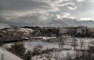 Χιονισμένη «ξύπνησε» την Κυριακή η Σαμοθράκη