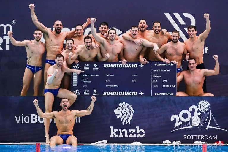 Μεγάλη νίκη επι της Ρωσίας και Θρυλική πρόκριση της Εθνικής στους Ολυμπιακούς Αγώνες του Τόκιο!