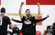 Κορυφαίος ακραίος της 9ης αγωνιστικής στην Volley League ο Ραφαήλ Κουμεντάκης!