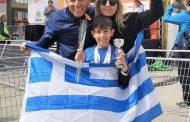 Ανέβηκε στο βάθρο 10χρονος Κομοτηναίος σε διεθνή αγώνα δρόμου στην Ολλανδία!