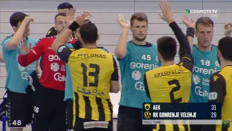 Ένα βήμα από τον τελικό του European Cup η ΑΕΚ, σκόραρε στη νίκη της ο Αραμπατζής!