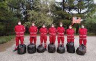 Καθάρισαν το δάσος της Νυμφαίας μέλη του Ελληνικού Ερυθρού Σταυρού Κομοτηνής!