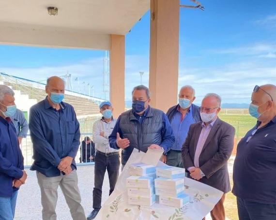 300 rapid test παρέδωσε στην Ελπίδα Σαπών ο βουλευτής Ροδόπης Ευρυπίδης Στυλιανίδης