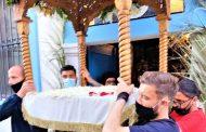 Σε κλίμα κατάνυξης μετείχαν στην Περιφορά του Επιτάφιου στον Άγιο Νικόλαο οι Τάτος, Παπάζογλου, Καπνίδης & Σιατραβάνης