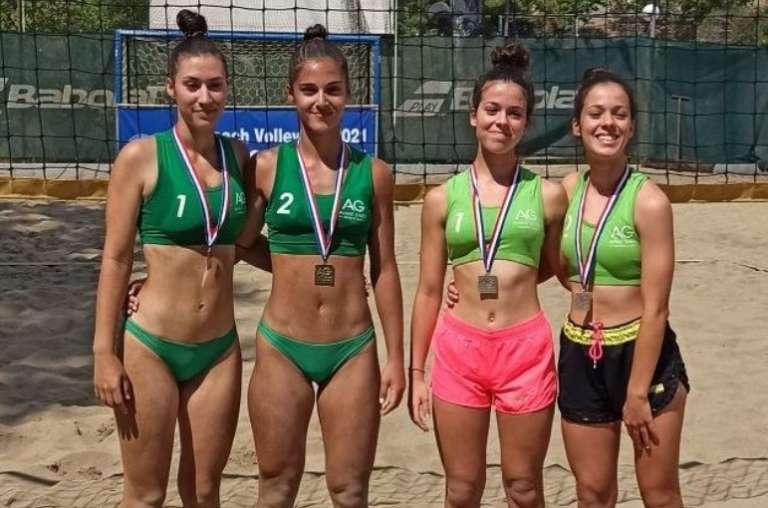 Δεύτερη θέση στο πρώτο Open του Πανελληνίου πρωταθλήματος οι αδερφές Μόκαλη!
